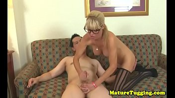 husband orgasm while wanks Fully clothed hand job
