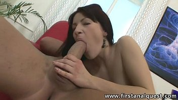 virgin guy loses Vanessa anal creampie