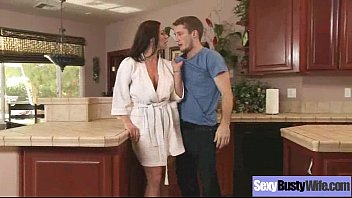 lust kitchen step kendra African maid 10