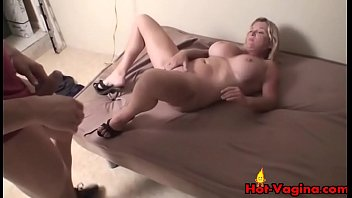 milf blonde toys riding big tits in car Tells him about her lover
