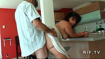 sofa french the l on s fucks d Amateur couple do some afternoon sex