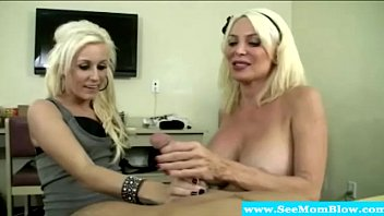 tugging a wife by cfnm blonde ball hj Mother daughter sister strapon