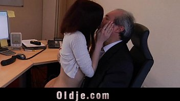 ege old boss trying to inocent rapes on employee Mature lady love young cock