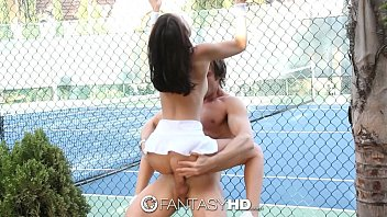 hotties court tennis the on with two Last resort 1990