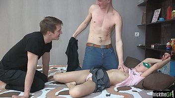job cheating fpr Naked bound on bed