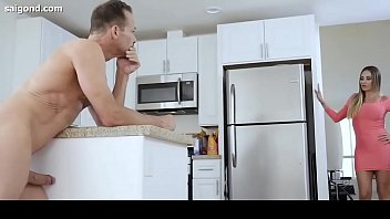 in dad daughter fuck sleep Sawing sex wife