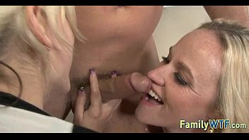 sloppy father and french kissing daughter Hubby film wife boss